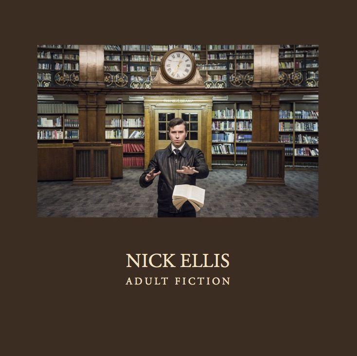 Nick Ellis Adult Fiction Vinyl Amp Cd Album Mellowtone