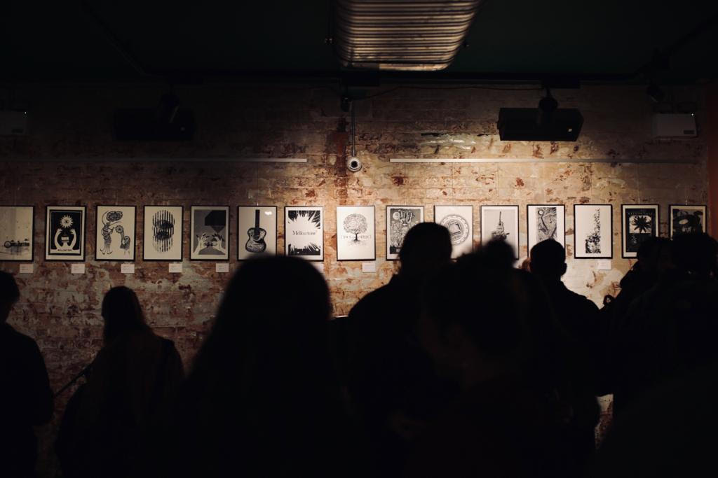 Mellowtone 15 Exhibition, photograph by Robin Clewley